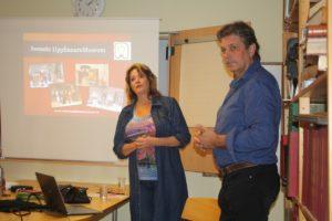 Ann Dohse och Anders Köhler från Svenskt Uppfinnaremuseum.