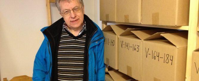 Anders Liljegren på Arkivet för UFO-forskning 2013.