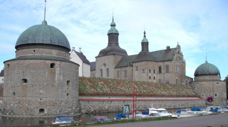 Vadstena slott från norra sidan. Bildkälla: Wikipedia